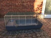 Large indoor rabbit cage