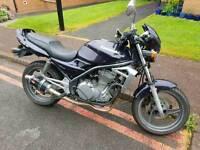 Kawasaki er500 19k miles 2002 plate read add