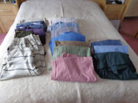 Mens shirts,trousers and sweaters. XL