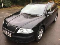 Skoda Octavia 1.9 tdi pd estate manual 2006 black new cam belt and more