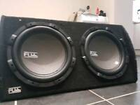 FLI 2000w Subwoofer and Amplifier