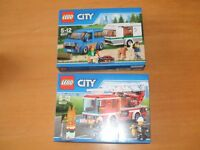 Lego CITY kit. Unopened and in new condition. £12 each or both for £20
