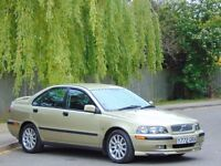 2001 VOLO S40 SPORT AUTOMATIC.. 13,700 GENUINE LOW MILES.. FSH.. 1 OWNER..