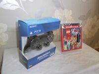 Sony PS3 DualShock 3 controller & Lego Movie Video Game