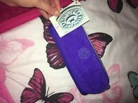 Purple Kipling pencil case