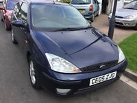 Ford Focus 1.8 tdci turbo diesel zetec 2005 facelift model 3 door hatch mot November 27 taxed