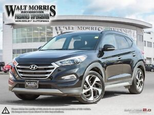 2017 Hyundai Tucson LIMITED 1.6: NO ACCIDENTS, ONE OWNER, LEATHE