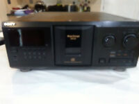 Sony 300 CDs Player