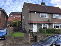 Two bedroom semi detached house in Kimberley available beginning of June in quiet residential area