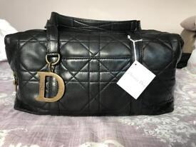 Genuine Christian Dior Cannage Shoulder Bag