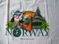 Princes Cruises Norway T shirt New unworn Size L
