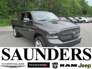 2015 Ram 1500 Sport Crew Leather/Nav