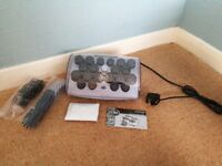 Remington electric heated ionic hair curlers with accessories