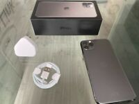 Space Grey Apple Iphone 11 Pro Max 256GB Factory Unlocked To All Networks + Warranty
