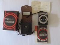 Leningrad -7 photoelectric exposure meter