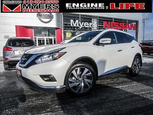 2016 Nissan Murano PLATINUM, LEATHER, ALLOY RIMS, MOONROOF, NAVI