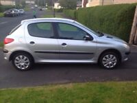 2005 peugeot 206 1.4 cc hdi mint condition in and out , long mot