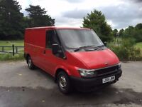 2005 FORD TRANSIT 260 SWB 2L DIESEL, MANUAL, PANEL VAN**NEW MOT TILL JUNE 2017***EX ROYAL MAIL VAN