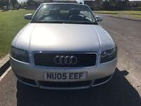 Audi A4 1.8t low Milage unusual speck red roof