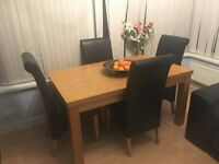 Cheap table & chairs - readvertised due to time wasters !!!!