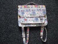 Unusual and Brand New Minnie Mouse and Donald Duck School Satchel/Backpack