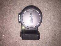 Nikon Coolpix L830 and tripod