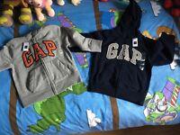 Boys gap zippers