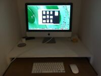 21..5 inch apple imac in excellent condition
