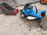 Very rare Springfield ZTR 308 ride on mower