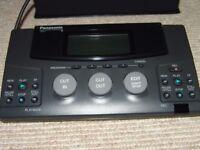 Panasonic Video Titler VW-VT1 & Editing Controller VW-EC1