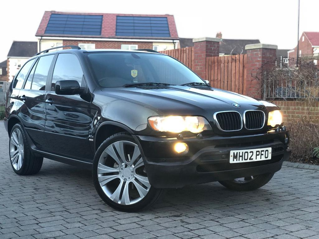2002 bmw x5 4x4 modified wheels in houghton le. Black Bedroom Furniture Sets. Home Design Ideas