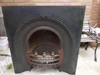 Wrought iron fireplace