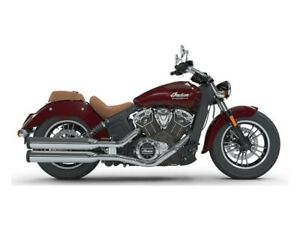 2018 Indian Motorcycles Scout ABS burgundy metallic