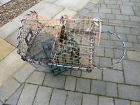 """Lobster / Crab pots / creels double entry 24"""" X 18"""" 8MM Galvanised steel"""