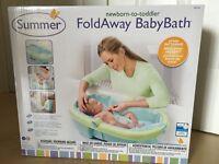 Summer Foldaway Travel Bath