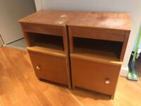 Bedside tables in used condition