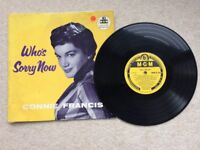 Connie Francis Who's Sorry Now 10 inch LP