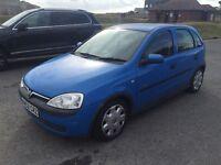 Vauxhall Corsa 1.4 | 2002 | Just passed MOT