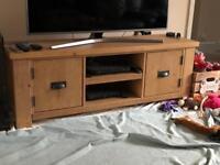 Solid Pine TV Unit