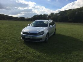2010 Volkswagen Golf TDI Estate Blue Motion Silver 7 Months MOT