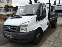 2007 FORD TRANSIT, TIPPER, DIESEL. BRILLIANT DRIVE. WARRANTY OFFERED.SOLID FRAME. MOT 2017/01.NO VAT