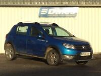 Dacia Sandero Stepway 1.5 dCi Laureate 5dr (azurite blue rpl) 2014