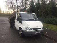For transit tipper 90 PS t350 MWB (05) REG 95000 Miles 7 months MOT NO VAT