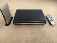 2 x Sky TV HD boxes, remotes and router