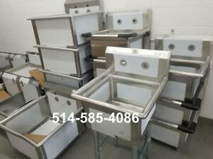 Evier en Acier Inoxydable- Neuf!! Stainless Steel Sinks! Brand New! WAREHOUSE LIQUIDATION!!!!!!