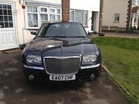 Chrysler 300C 3.0 CRD V6 Diesel 4dr Saloon Tungsten Blue (Looks Like A Bentley), Low Low Mileage