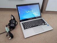 "Sony VAIO 13.3"" LED HD Ultrabook, Intel Core i3, 6GB DDR3 Memory, 500GB Hard Drive, HDMI"