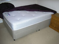 Double bed (base and mattress)