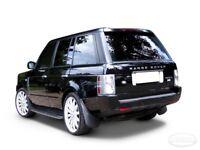 Land Rover Range rover vogue l322 2002 - 2012 side steps Running Boards Side Bars Plus Mud Flaps