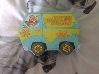 scooby doo van with cards